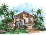 Small Mediterranean Style Home Plans Two Story Mediterranean House Plan 66010we