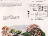 Small Mid Century Modern Home Plans Mid Century Modern Small House Architecture 1952