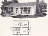 Small Mid Century Modern Home Plans Retro Mid Century Modern Plan Weyerhauser Design No