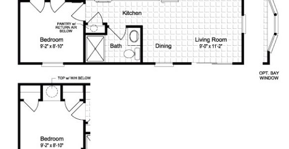 Small Mobile Home Plan Inspirational Small Mobile Home Floor Plans New Home