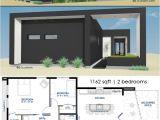 Small Modern Home Floor Plans Small Front Courtyard House Plan 61custom Modern House