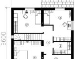 Small Modern Home Floor Plans Small Modern One Story House Plans