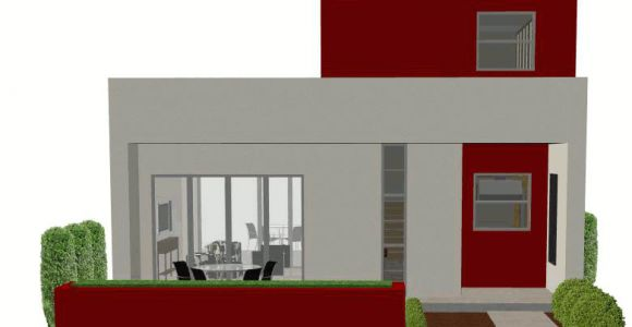 Small Modern Home Plan Contemporary Small House Plan 61custom Contemporary