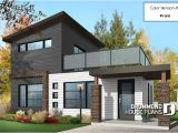 Small Modern House Plans Two Floors House Plan W1703 Detail From Drummondhouseplans Com