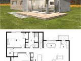 Small Modern House Plans Two Floors Small Modern Cabin House Plan by Freegreen Energy