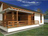 Small Patio Home Plan Proiecte De Case Mici Cu Terasa Acoperita Case Practice