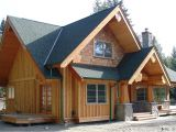 Small Post and Beam Home Plans Gibsons Hybrid West Coast Log Homes
