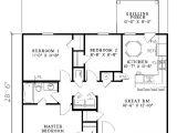 Small Ranch Homes Floor Plans ashley Manor Small Ranch Home Plan 055d 0013 House Plans