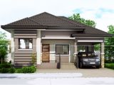 Small Single Story House Plans with Garage One Story Small Home Plan with One Car Garage Pinoy