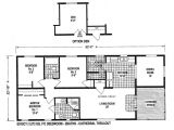 Small Single Wide Mobile Home Floor Plans Mobile Home Blueprints 3 Bedrooms Single Wide 71 E910ct