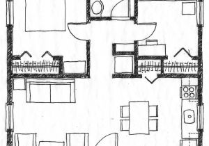 Small Square Footage House Plans Small Scale Homes 576 Square Foot Two Bedroom House Plans