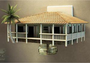 Small Stilt Home Plans House On Stilts Small Stilt House Plans Small Stilt House
