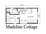 Small Studio Home Plan 12×24 Cabin Floor Plans Google Search Moma She Shed