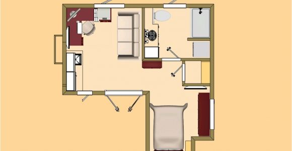 Small Studio Home Plan Exceptional Studio House Plans 9 Small Studio Guest House