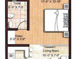 Small Studio Home Plan Micro Apartments Floor Plans Floor Plan Tiny Spaces