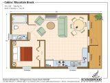 Small Studio Home Plan One Room Cabin Floor Plans Studio Plan Modern Casita