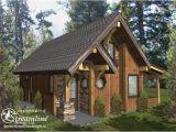 Small Timber Frame Home Plans Chelwood Cabin Timber Frame Plans 695sqft Streamline