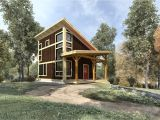 Small Timber Frame Homes Plans Brookside 844 Sq Ft From the Cabin Series Of Timber