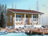 Small Vacation Home Plans Small House Plan Tiny Home 1 Bedrm 1 Bath 400 Sq Ft