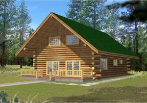 Small Vacation Home Plans with Loft Small Log Cabins with Lofts 2 Bedroom Log Cabin Homes Kits