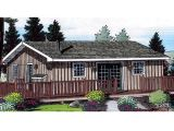 Small Waterfront Home Plan Small House Plans Storybook Cottage Small Cottage House