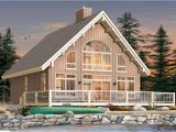 Small Waterfront Home Plan Small Lake Cottage House Plans Small House Plans