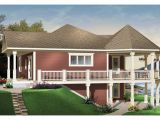 Small Waterfront Home Plan Waterfront House Plans with Walkout Basement Small House