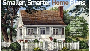 Smaller Smarter Home Plans Familyhomeplans Com Smaller Smarter Home Plans