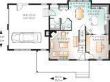 Smart Home Plans Smart House Plan with Large Bonus Space 21507dr Bonus