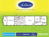 Solitaire Homes Floor Plans Single Wide Floorplans In Tx Ok and Nm solitaire Homes
