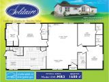 Solitaire Manufactured Homes Floor Plan Double Wide Floor Plans Houses Flooring Picture Ideas