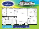 Solitaire Mobile Home Floor Plans Double Wide Floor Plans Houses Flooring Picture Ideas
