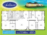 Solitaire Mobile Home Floor Plans Fair 90 Mobile Home Plans Double Wide Decorating