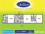 Solitaire Mobile Home Floor Plans solitaire Homes Single Wide Floor Plans Floor Matttroy