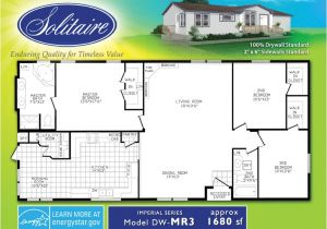 Solitaire Modular Homes Floor Plans Double Wide Floor Plans Houses Flooring Picture Ideas