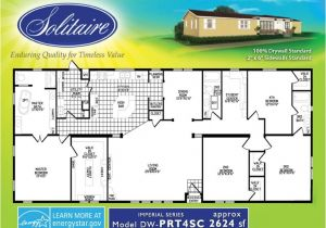 Solitaire Modular Homes Floor Plans Spacious Double Wide Mobile Home Floorplans In New Mexico