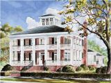 Southern Antebellum Home Plans Eplans Plantation House Plan Smythe Park House From the