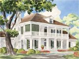 Southern Antebellum Home Plans Eplans Plantation House Plan Sterett Springs From the