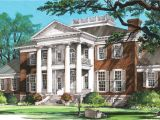 Southern Antebellum Home Plans House Plan southern Plantation Mansions Plantation