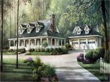 Southern Home Plans Wrap Around Porch Country House Plans with Porches southern House Plans