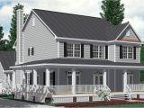 Southern Home Plans Wrap Around Porch southern House Plans with Wrap Around Porches