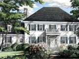 Southern Homes House Plans southern Colonial Home Plan 32444wp Architectural