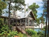 Southern Living Lakefront House Plans Lake House In the Trees southern Living