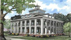 Southern Plantation Home Plans 5 Bedrm 4874 Sq Ft southern House Plan 153 1187
