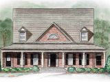 Southern Style House Plans with Wrap Around Porches southern Style with Wrap Around Porch 15745ge