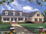 Southern Style Ranch Home Plans Ranch Home Porches Add Appeal and Comfort