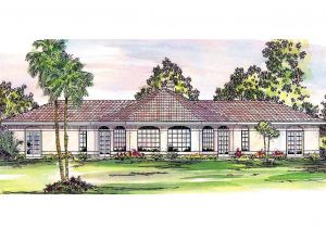 Southwest Style Home Plans southwest House Plans San Pedro 11 049 associated Designs