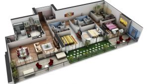 Spacious 3 Bedroom House Plans Spacious 3 Bedroom House Plans Interior Design Ideas