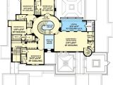 Spanish Colonial Home Plans Luxury Spanish Colonial House Plan 82012ka 1st Floor