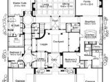 Spanish Home Plans Center Courtyard Pool Home Plans Courtyard Courtyard Home Plans Corner